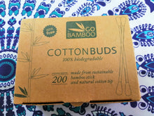 Load image into Gallery viewer, Bamboo Cottonbuds 200's