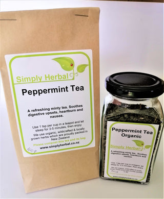 Peppermint Tea Packaged Loose 50g