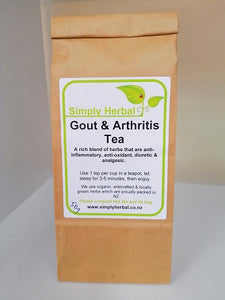 Gout & Arthritis Tea Loose Packaged 50g