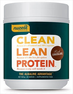 Protein Powder Clean Lean Chocolate 1kg (CLEARANCE - 50% off)