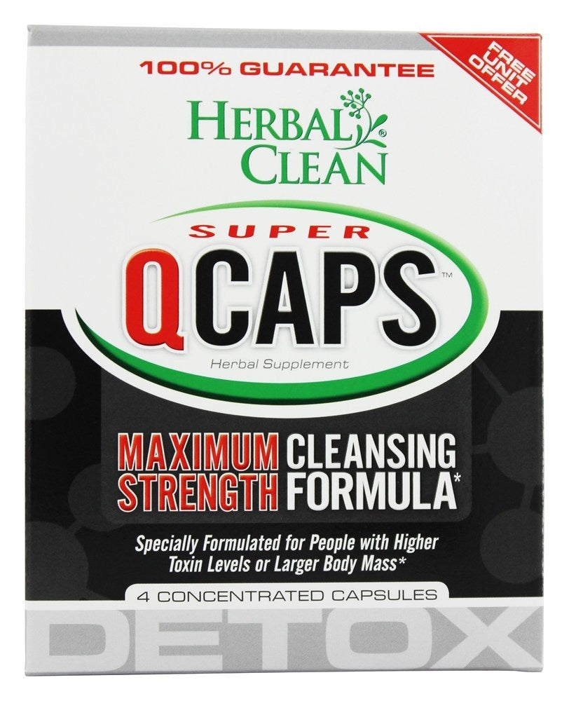 Q Caps Herbal Cleanse 4 caps