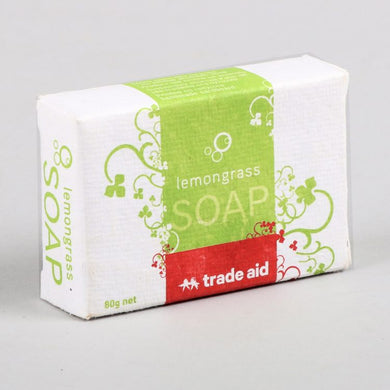 Soap Trade Aid Lemongrass 80g