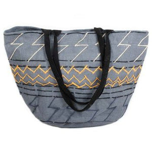 Bag Grey Jute Shopper