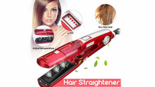 Load image into Gallery viewer, steam hair straightener: بريسة بالبخار