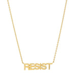 Yellow Gold RESIST Necklace
