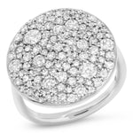 Eriness Diamond Cluster Ring
