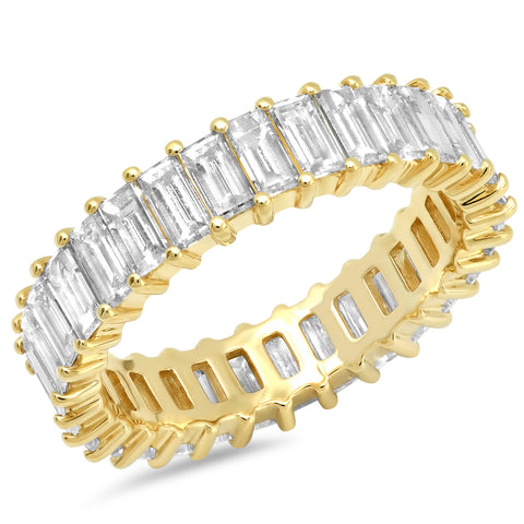Diamond Vertical Baguette Ring