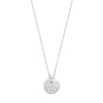 White Gold Diamond Baby Ladybug Necklace