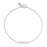 White Gold Mini Resist Bracelet