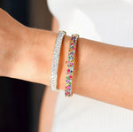 Multi Colored Cluster Bangle