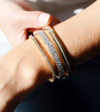 Diamond Row Bangle