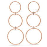 Eriness Jewelry Triple Loop Earrings