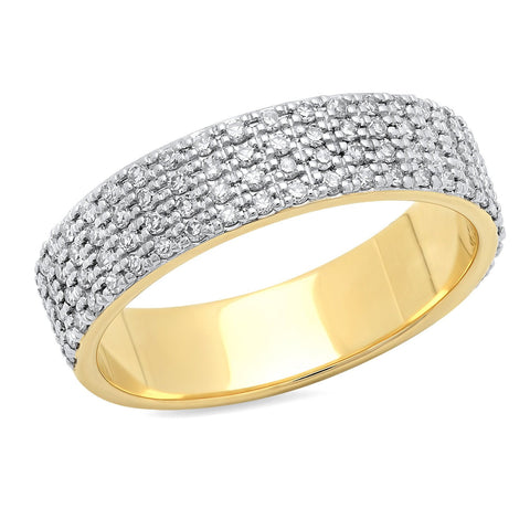 Eriness Jewelry Diamond Cigar Band