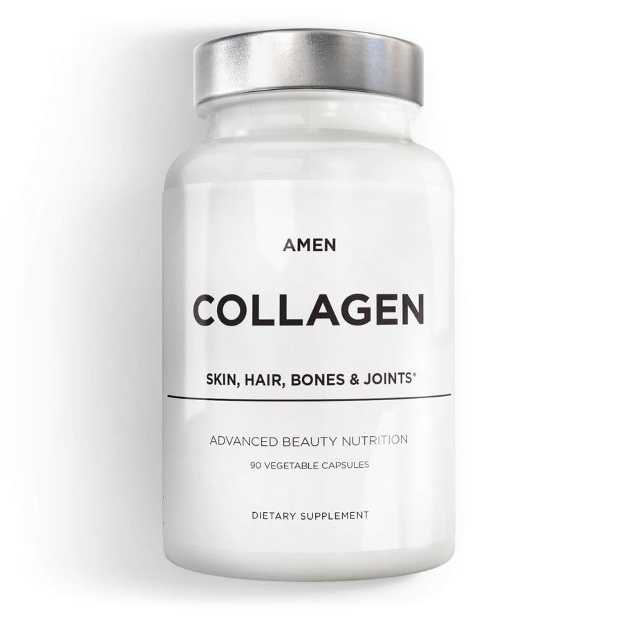 Amen Collagen Capsules Supplement front