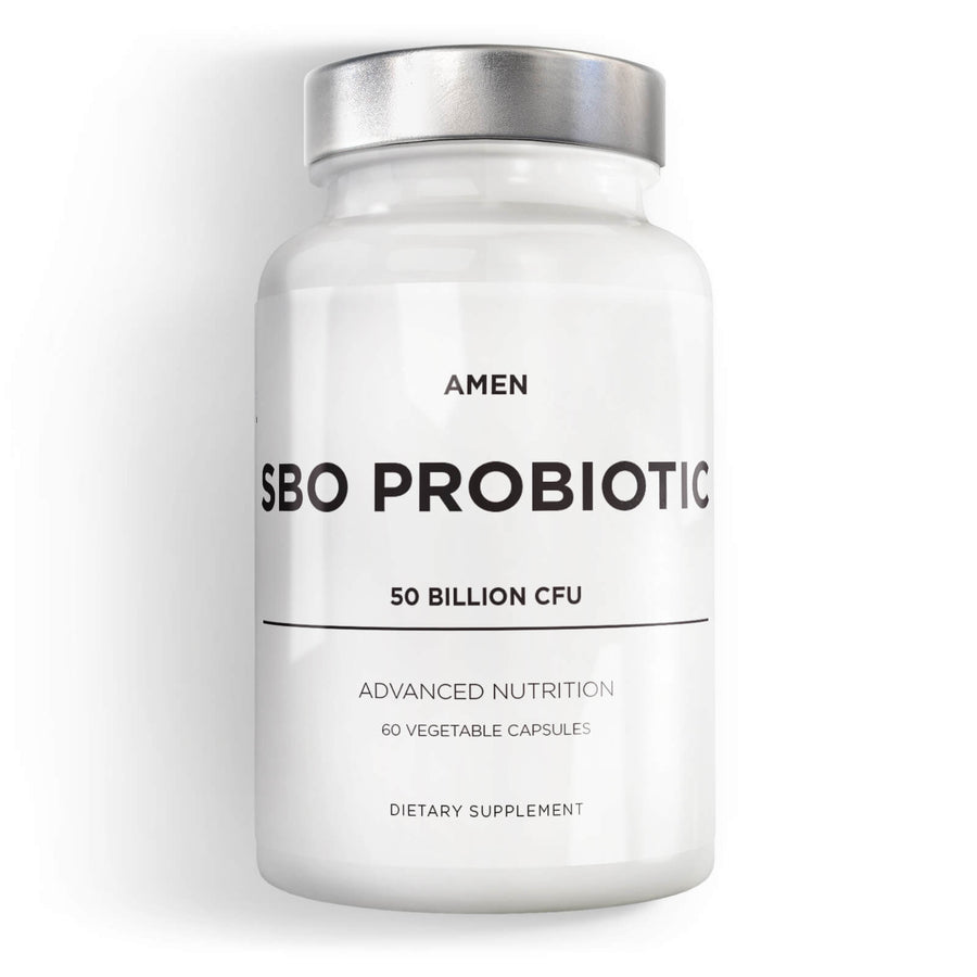 Amen SBO Probiotic 50 billion CFU Supplement front