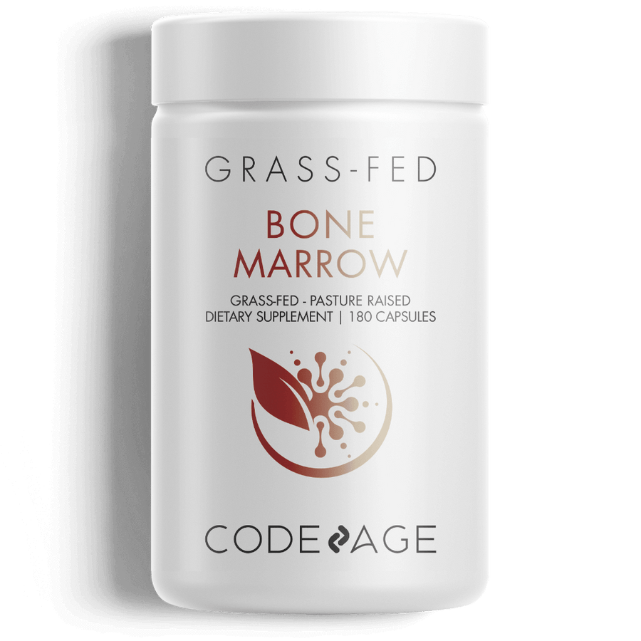 Codeage Bone Marrow Supplement Capsules Front