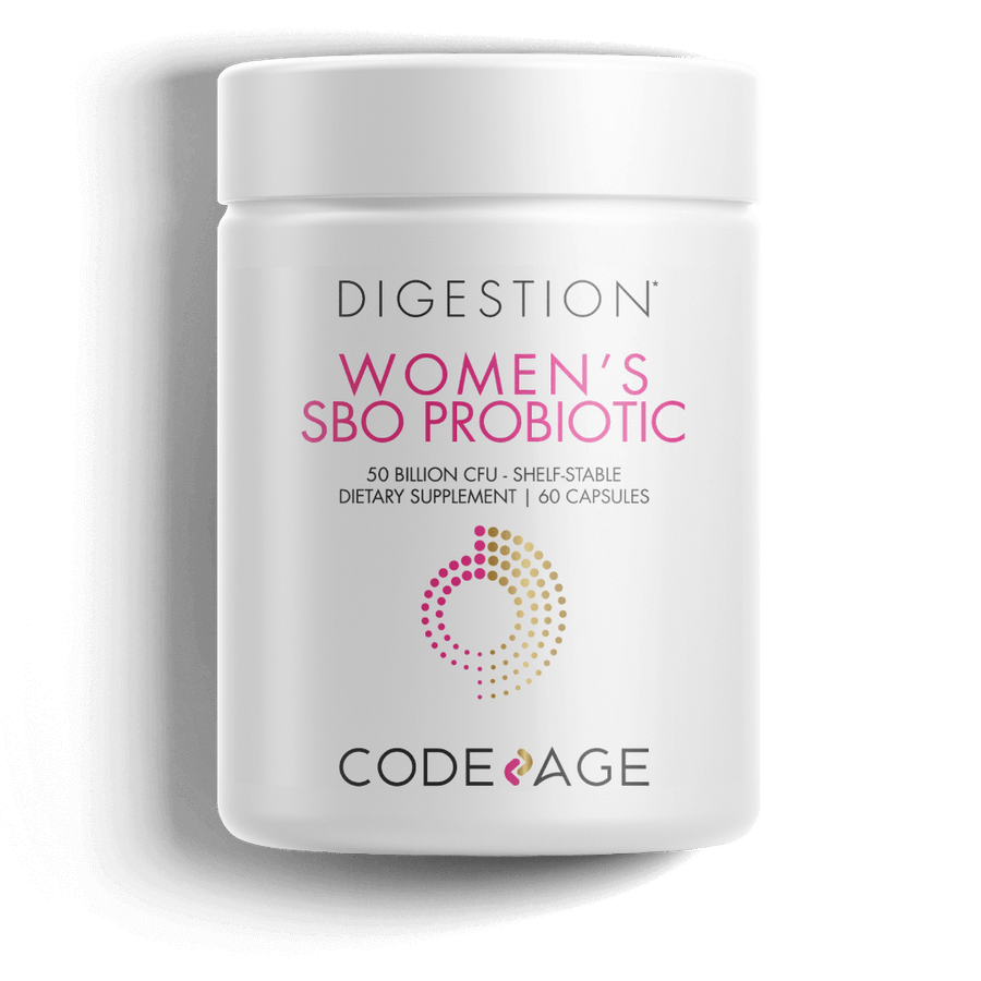 Codeage Women SBO Probiotic Supplement Front