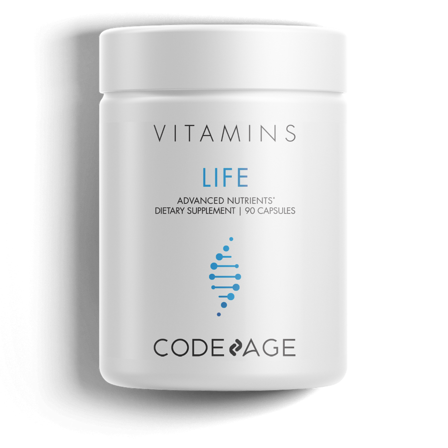Codeage Life Telomeres Supplement DNA front