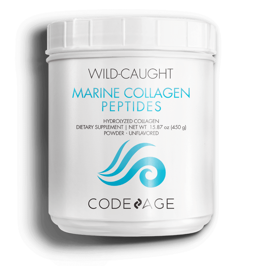 Wild Caught Marine Collagen Peptides Hydrolyzed Powder Fish Collagen Supplement