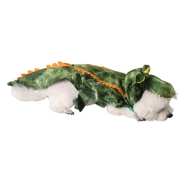 Whimsical Dinosaur Costume for Dogs