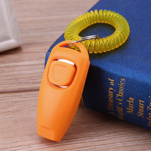Dog Clicker Pet Training Clicker with Strap