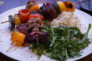 CCM RECIPES with Chef/Ambassador, Austen Granger - Beef Kabobs with Chimichurri
