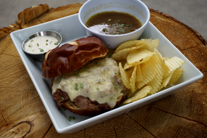Left over steak? Try this French Dip Recipe from CCM Ambassador Austen Granger