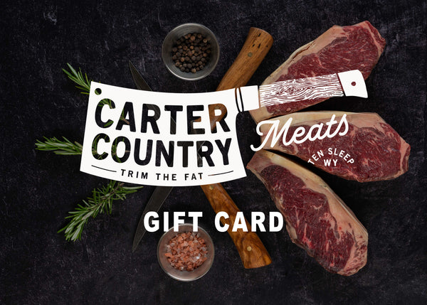 Carter Country Meats Gift Card