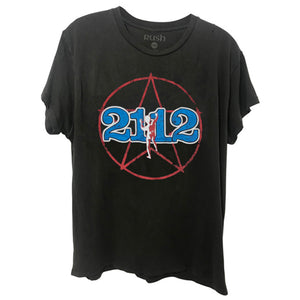 Rush 2112 Starman Logo Men's Classic Rock T-Shirt