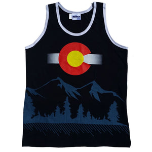 Colorado State Flag - Rocky Mountain High Men's Tank Top