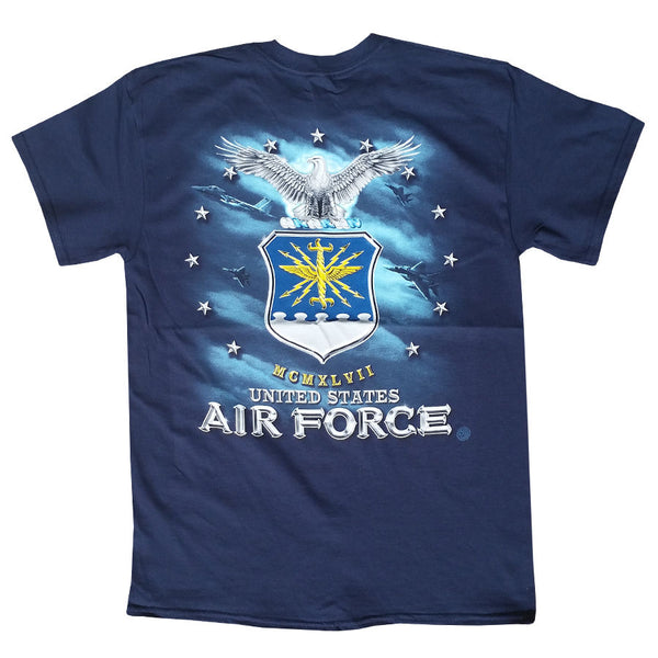 US Air Force USAF Missile Eagle Shield Men's T-Shirt