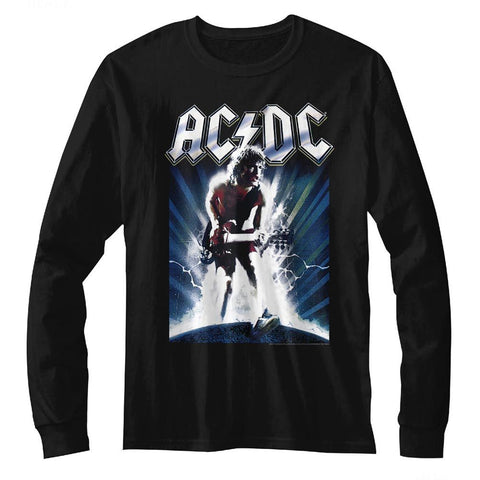 ACDC-ACDC-Black Adult L/S Tshirt