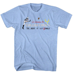 Ace Ventura-Stinkle2-Light Blue Heather Adult S/S Tshirt