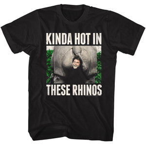 Ace Ventura-These rhinos-Black Adult S/S Tshirt