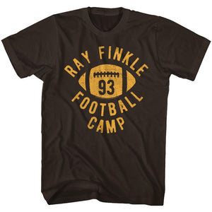 Ace Ventura-Finkle Football-Dark Chocolate Adult S/S Tshirt
