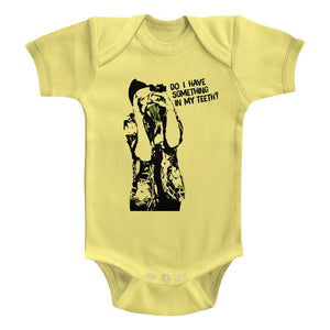 Ace Ventura-Something To Eat-Banana Newborn S/S Bodysuit