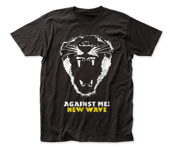 Against Me! New Wave fitted jersey tee