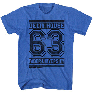 Animal House-Street-Royal Heather Adult S/S Tshirt