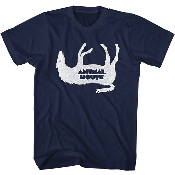 Animal House-Horsey-Navy Adult S/S Tshirt - Coastline Mall