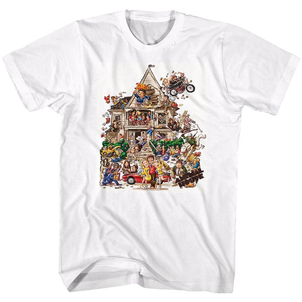 Animal House-House-White Adult S/S Tshirt
