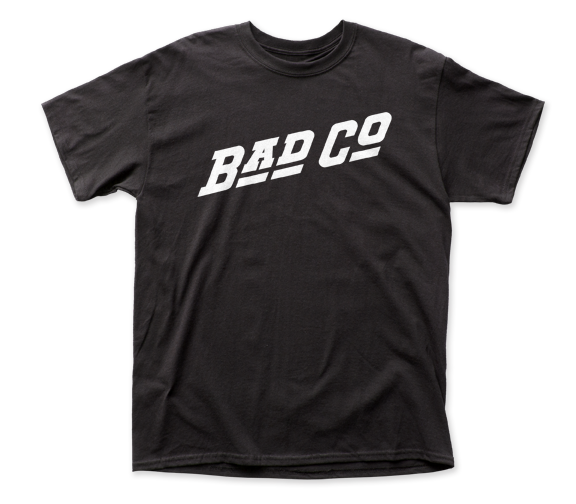Bad Company Logo adult tee
