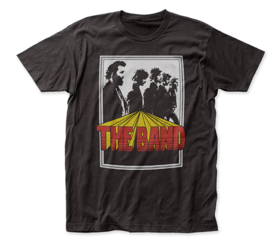 The Band Poster fitted jersey tee - Coastline Mall