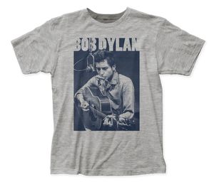Bob Dylan Harmonica fitted jersey tee