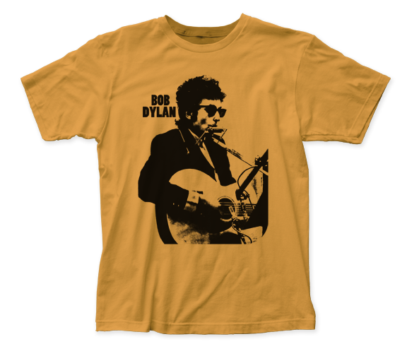Bob Dylan Silhouette fitted jersey tee