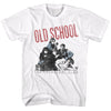 Breakfast Club-Old School-White Adult S/S Tshirt - Coastline Mall