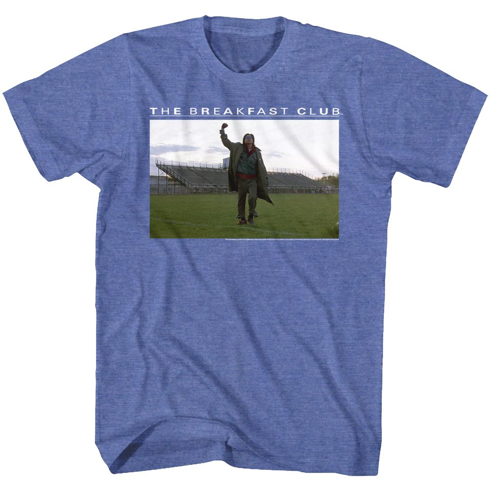 Breakfast Club-Football Fields-Royal Heather Adult S/S Tshirt