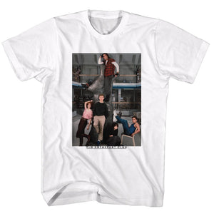 Breakfast Club-Liberry-White Adult S/S Tshirt