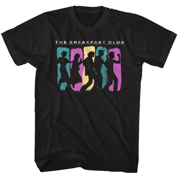 Breakfast Club-Breakdance-Black Adult S/S Tshirt