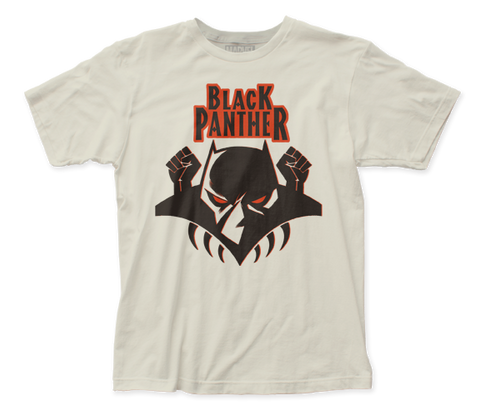 Black Panther Logo fitted jersey tee