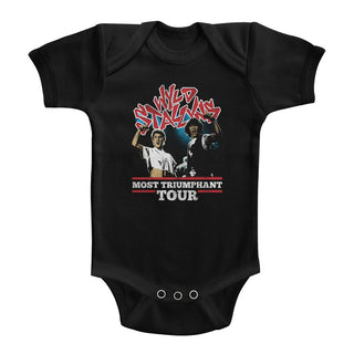 Bill And Ted - Most Triumphant | Black S/S Infant Bodysuit - Coastline Mall